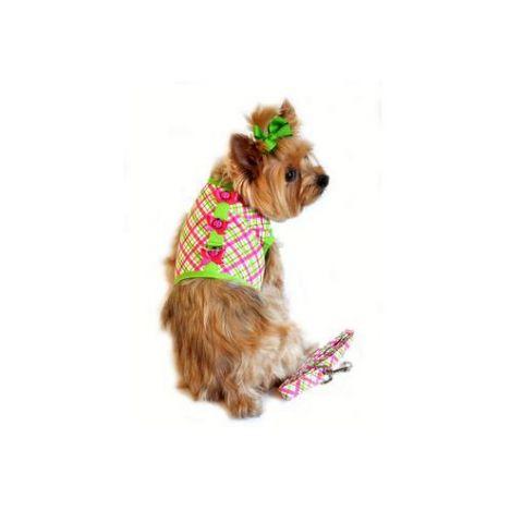 Doggie Design Ladybug - hundsele + koppel