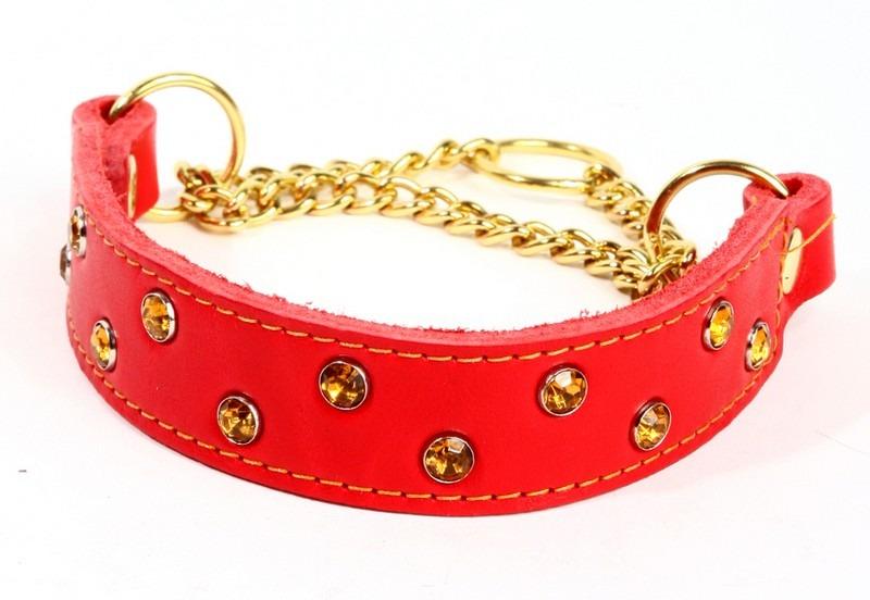 Rött halsband
