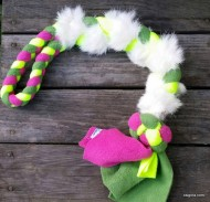 Clean Run Bunny Braided Fleece Tug