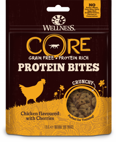 Core dog protein bites kyckling