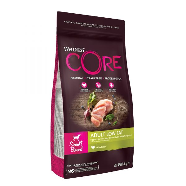 Core Adult Small Breed Low Fat