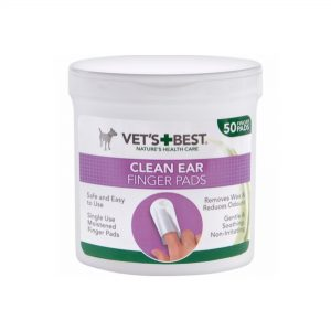 Vet's Best Clean Ear - Finger Pads