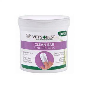 Vet's Best Clean Ear - Finger Pads